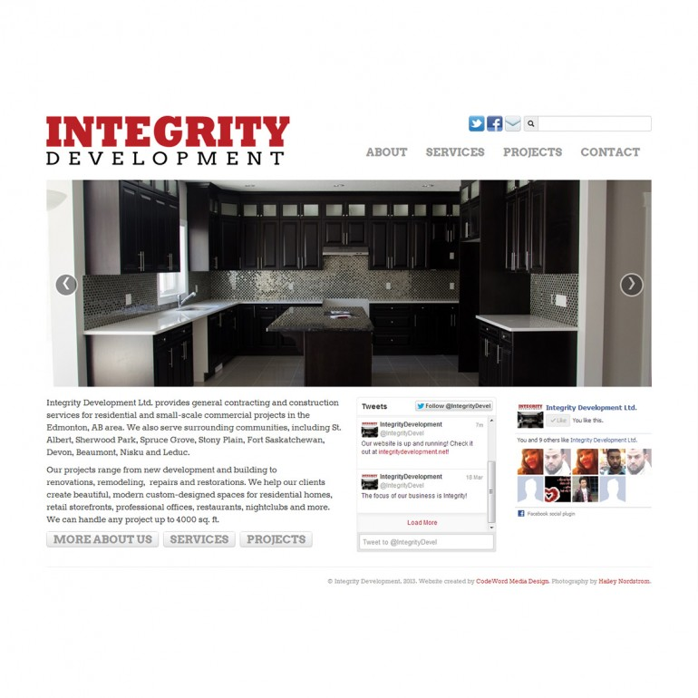 Integrity Development Ltd.