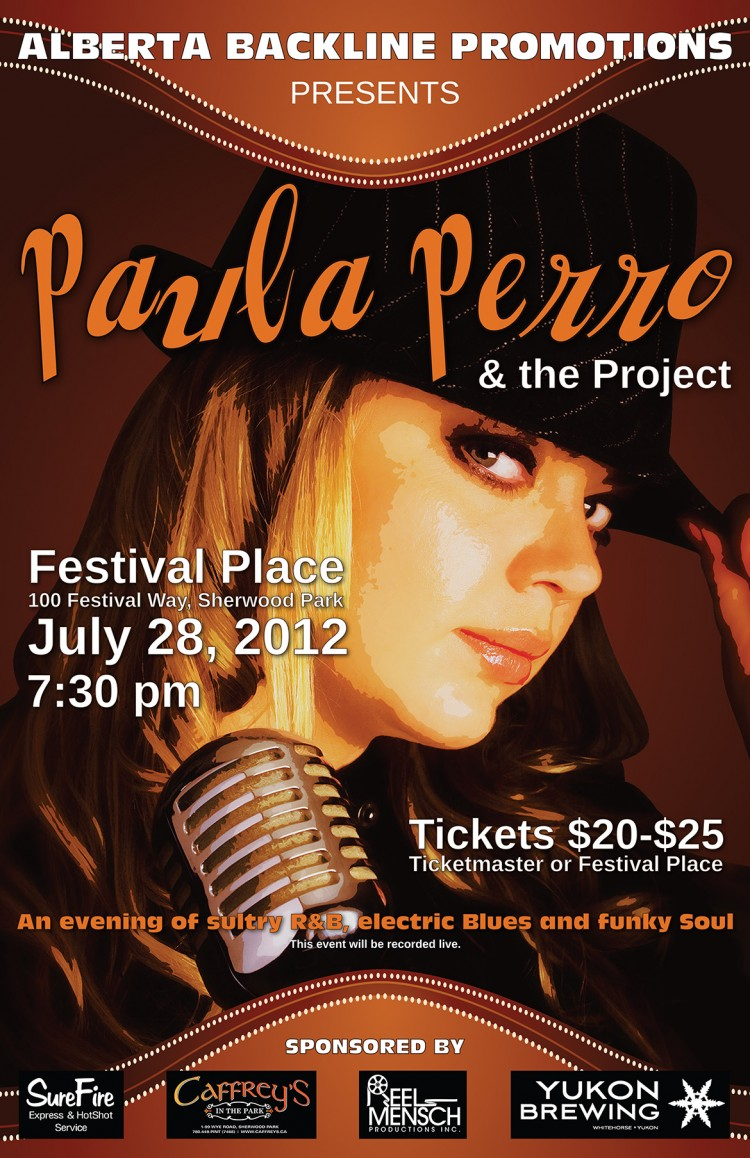 Paula Perro & the Project at Festival Place