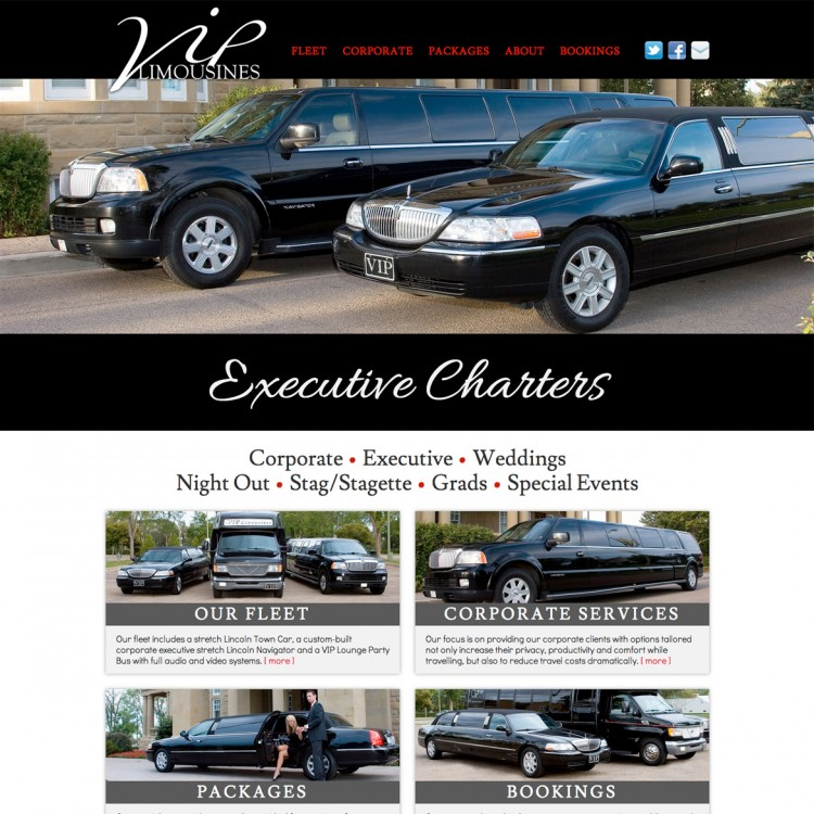 VIP Limousines Edmonton
