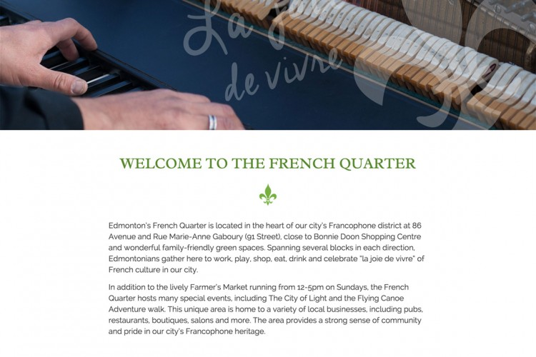 Edmonton French Quarter Business Association
