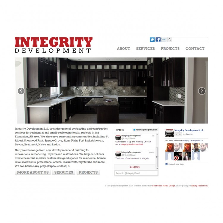 Integrity Development Ltd.