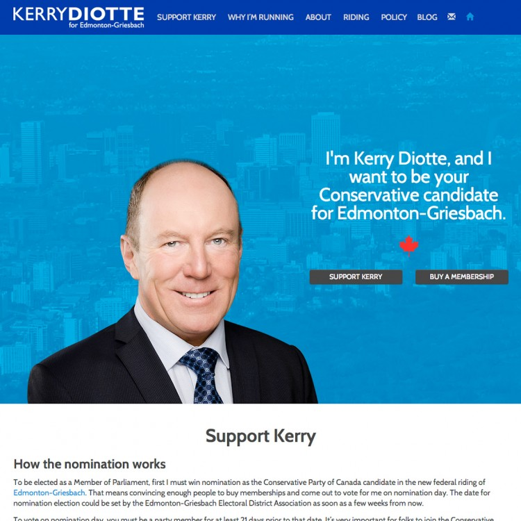 Kerry Diotte for Edmonton-Griesbach