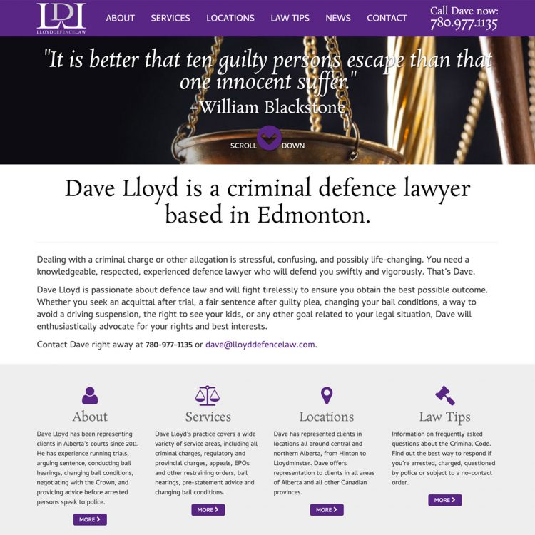 Lloyd Defence Law