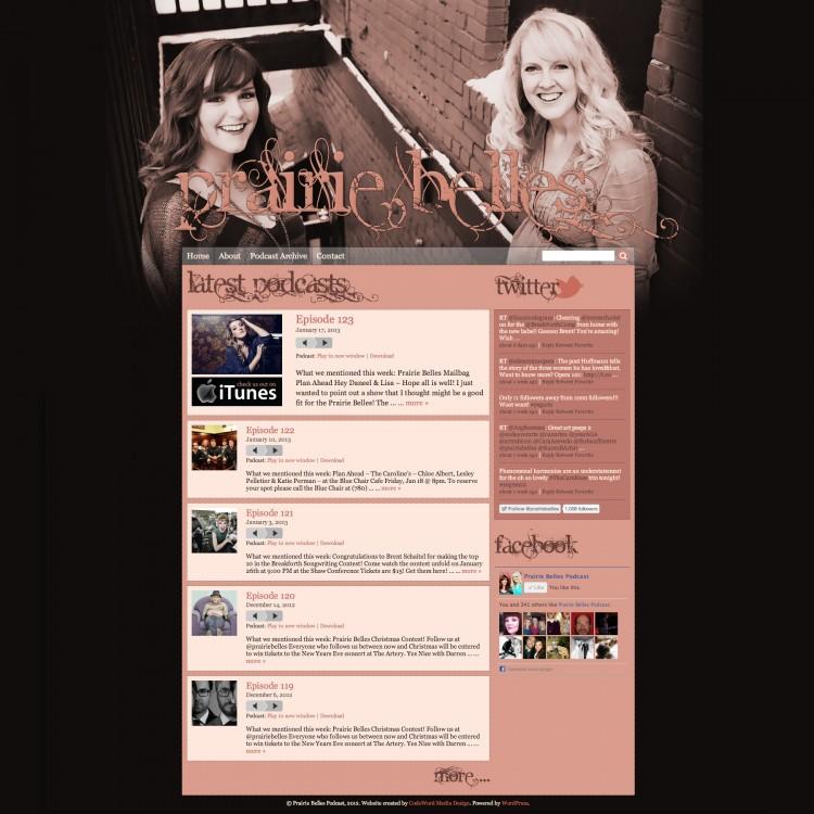 Prairie Belles Website