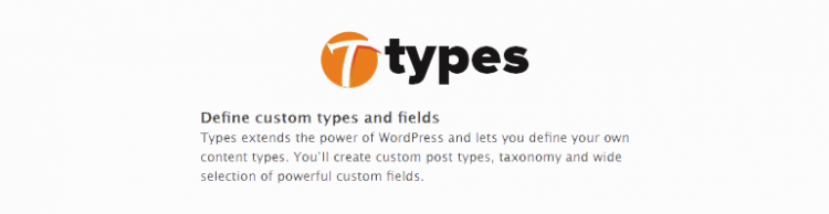 Types WordPress Plugin