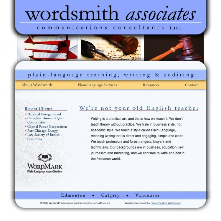 Wordsmith Associates Website