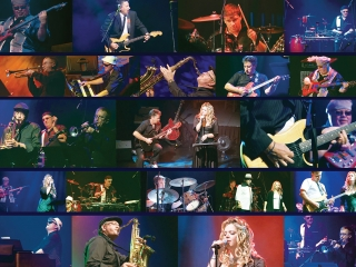 """""""Paula Perro & the Project: Live at Festival Place"""" DVD Packaging - Folded Insert Outer"""