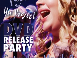 """Paula Perro & the Project: Live at Festival Place"" DVD Release Party Poster"