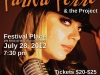 Paula Perro & the Project at Festival Place Poster